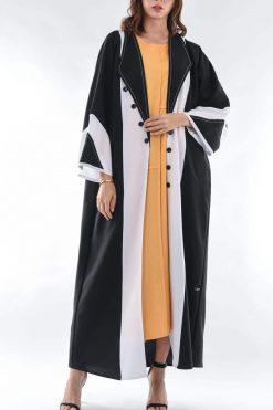 Bisht Style Abaya
