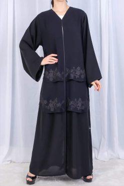 Abaya Flower Design