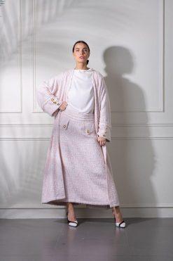 Coat Abaya Design - Three-piece