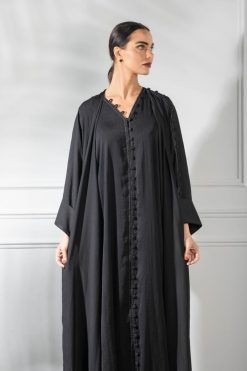 Matt Silk Abaya Design