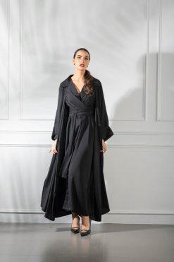 Plain Black Abaya