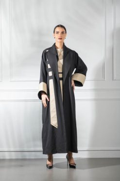 Black Overcoat Abaya