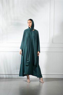 Abaya With Dress