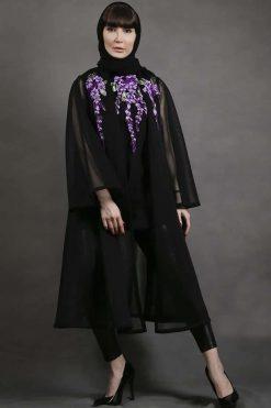 Long Black Cardigan Women