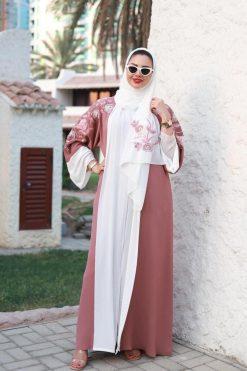 Abaya Boutique - Flower Embroidered Abaya