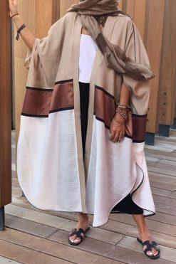 Beige color Abaya